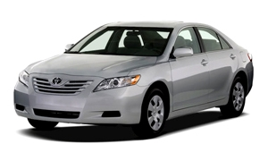Toyota Camry or similar 5 door sedan
